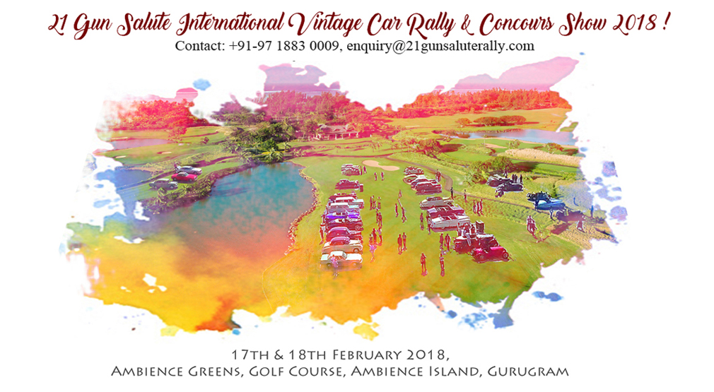21 Gun Salute International Vintage Car Rally & Concours Show 2018